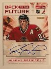 2012-13 Limited Jeremy Roenick Dual On-Card Auto #d 10 25 Blackhawks Andrew Shaw