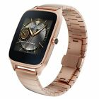 ASUS ZenWatch 2 Smartwatch Refurbished WI501Q Gold Metal IP67 Excellent