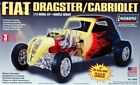Lindberg Fiat Dragster/Cabriolet, 1/12 Scale No. 73043 in Factory Sealed Box.