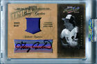 2004 Prime Cuts Timeline GARY CARTER Signature Material Patch Auto Rare SP # 8