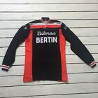 Vintage Bertin Milremo Jersey Long Sleeve Cycling Cyclisme Large