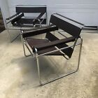 Knoll Wassily Chairs, a Pair, Marcel Breuer