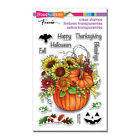 FALL PUMPKIN  Sayings CLEAR Unmounted Rubber Stamp Set STAMPENDOUS SSC1265 New