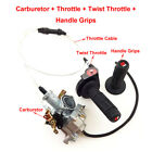 30mm Carb Gas Throttle Hand Grips Cable For IRBIS TTR 250 Dirt Bike 250cc