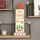 Chrsitmas Decorations Wooden Night Lamp Party Show Window Christmas Gifts Props