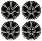 16 Honda Fit 09 10 11 12 13 Factory OEM Rim Wheel 63997 Charcoal Grey Set