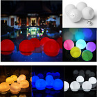 Waterproof LED Floating Ball Light Pool Outdoor Garden Party Decor Flashing Mood