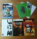 Assorted Video Game Manual And Insert Lot : Xbox 360, One, PS2, Wii