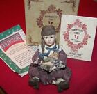 Boyds Bears Yesterday's Child Patricia with Molly..Attic Treasures with Box COA