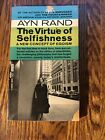 THE VIRTUE OF SELFISHNESS by Ayn Rand paperback OBJECTIVIST PHILOSOPHY
