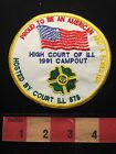 INDEPENDENT ORDER OF FORESTERS IOF PATCH 1991 Illinois Campout C654