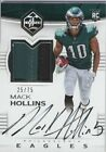 2017 Limited Silver Spotlight #130 Mack Hollins Rookie Patch Autograph