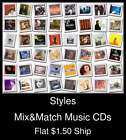 Styles(25) - Mix&Match Music CDs U Pick *NO CASE DISC ONLY*