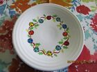 Fiestaware Jolly Bells Lunch Plate Fiesta White Exclusive Luncheon Holiday