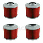 4PCS Engine Oil Filter For APRILIA ETX350 Tuareg Wind Moto Pegaso 650 Tuareg 600