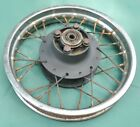 SUZUKI RM50 / RM 60 / REAR WHEEL ASSEMBLY / REAR HUB AND RIM ASSEMBLY