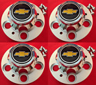 1992 1996 CHEVROLET CAPRICE POLICE 9C1 Wheel Center Hub Cap NEW SET of 4