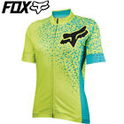 Fox Switchback Comp Womens Jersey 2016 S M L XL Fluro Yellow Aqua