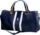 Ralph Lauren Polo Blue and White Weekend Cabin Gym Holdall Duffle Bag