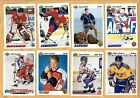 1991-92 Upper Deck Set 1&2 1-700 with 2 subsets Hull 1-10 & Euro-stars 1-18
