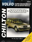 1970-1989 Volvo Coupes Sedans Wagons Chilton Repair Service Workshop Manual 7865