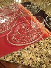 VINTAGE FEDERAL 7 SANDWICH PLATES AND 4 CUPS