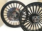 21 x 325  18 x 550 HARLEY ROAD GLIDE BLACK LEGEND ABS WHEEL SET WITH ROTORS