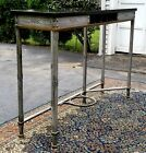 1920's Samuel Yellin Blacksmith Bank Table Longmeadow Ma