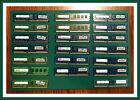 Mixed lot of 20 2GB PC3 10600U DDR3 SDRAM Desktop Memory RAM Tested