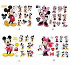 Baby Cartoon Mickey Minnie Mouse Nursery Decals Stickers Wall Home Kids Room set