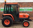 Kubota STV 36 Compact Tractor 4x4 36 Hp Hydrostatic loader Grass tyres 441