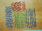 38 Vintage Reflective METAL ICICLE Christmas tree Ornaments Xmas ASST SIZES