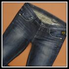 G STAR RAW NEW TAG SKINNY WOMAN JEANS 60324 SLIM SKINNY VINTAGE WASH W30 L34