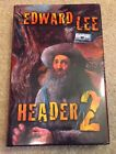Header 2 by Edward Lee Camelot Books trade hardcover signed by the author