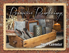 PRIMITIVE PONDERINGS 2019 CALENDAR ***PRIMITIVE COLONIAL RUSTIC COUNTRY MAGAZINE