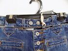NWT Vintage Pepe Blue Jeans GINNA Boot Cut Hip Hugger Sexy Cut Out Waist 24X32