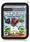 2013 Wacky Packages Series 11 #50b Angry Turds/ (Mobster High puzzle back)