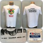VTG National Lampoon Vacation Walley World Movie T Shirt Chevy Chase L Thin Soft