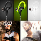 Stereo Sport Earphones with Ear Hook MIC Volume Control Running HeadphoneD/