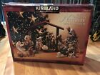 Kirkland Signature 12 piece Hand Painted Porcelain Nativity Set 75177