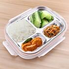 Stainless Steel Japanese Lunch Box With Compartments Microwave Bento Box For