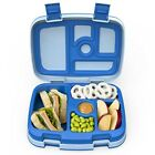 Lunch Box Kids Childrens Bentgo Bento Styled Lunch Solution Offers Durable Blue