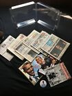 Assorted 2009 Obama Inaugural Magazines Newspapers DNC Button Great Condition