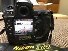 Nikon D3 with Three Batteries Charger Shutter count 78109 74 shutter life