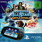 Sony PlayStation Vita Console - Schwarz + Playstaion All-Stars Battle Royale