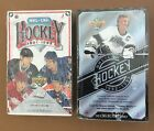 (2 Box Lot) 1991-92 and 1992-93 Upper Deck UD Hockey Boxes Factory Sealed NEW