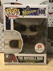 Funko Pop! Movies: Invisible Man #608 Walgreens Exclusive Universal Monsters
