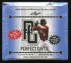 (2) 2013 Leaf National Showcase Perfect Game Factory Sealed Hobby Box 12-Autos