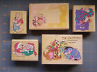 DISNEY WINNIE THE POOH  FRIENDS RUBBER STAMPS YOU PICK RARE HOLIDAY  MORE