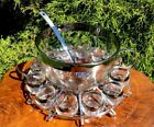 Vintage Mid Century Modern Roly-Poly Dorthy Thorpe Punch Bowl Madmen Excellent!!